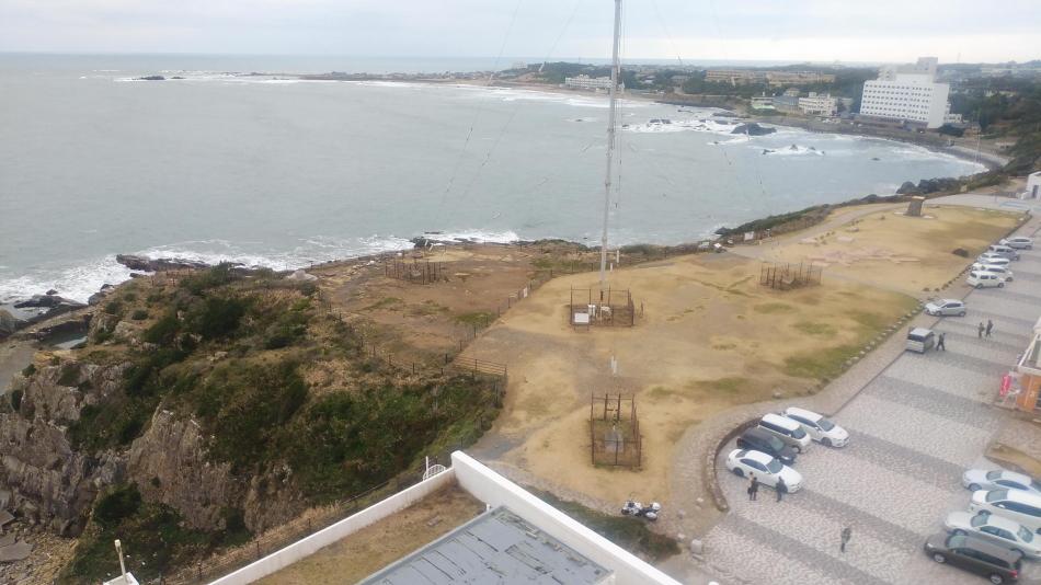 ツーリング 犬吠埼灯台 灯台からの写真