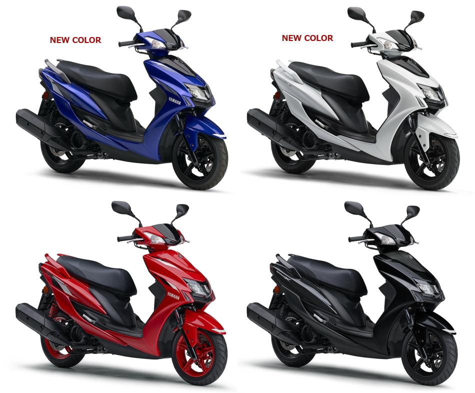 新商品 ヤマハ シグナスX 2020年モデル 発表