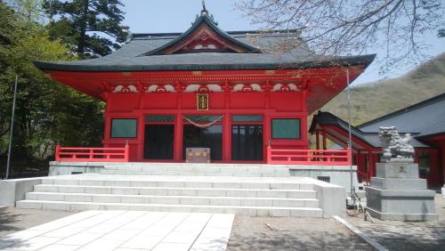 ツーリング 群馬県 赤城山 赤城神社