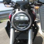 中古車 ホンダ CB250R ABS レッド ヘッドライト ロービーム点灯