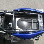 中古車情報 ホンダ CB1300スーパーフォア ブルー シート下収納スペース