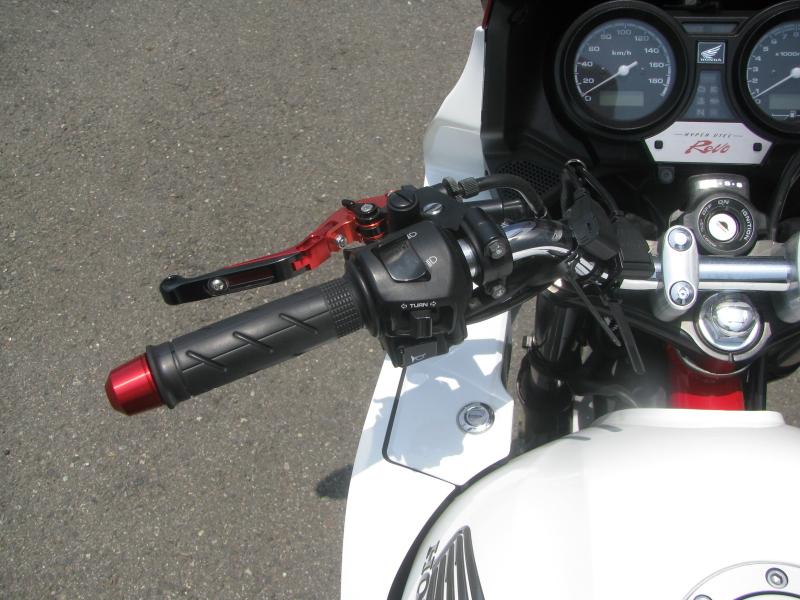 中古車 ホンダ CB400スーパーボルドール レッド/ホワイト(赤/白) ハンドル左側