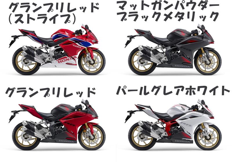 新商品情報 ホンダ CBR250RR シリーズ 2020年モデル 発表