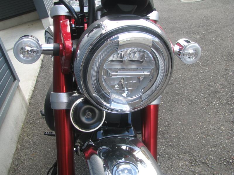 新車 ホンダ モンキー125ABS レッド LEDヘッドライト