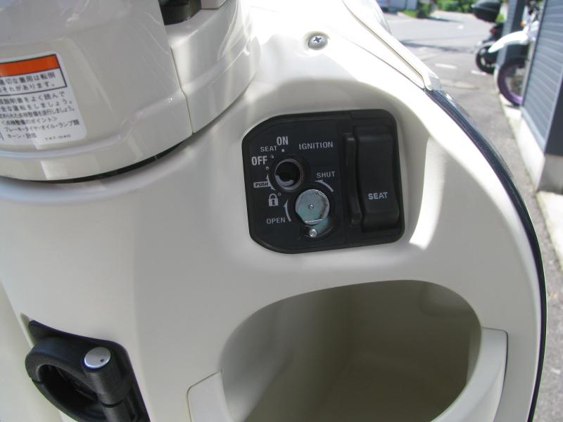 新車 ヤマハ ビーノ(VINO) ブルー キーシリンダー