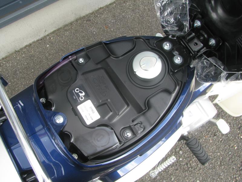 新車 ホンダ スーパーカブ110 ブルー タンクキャップ