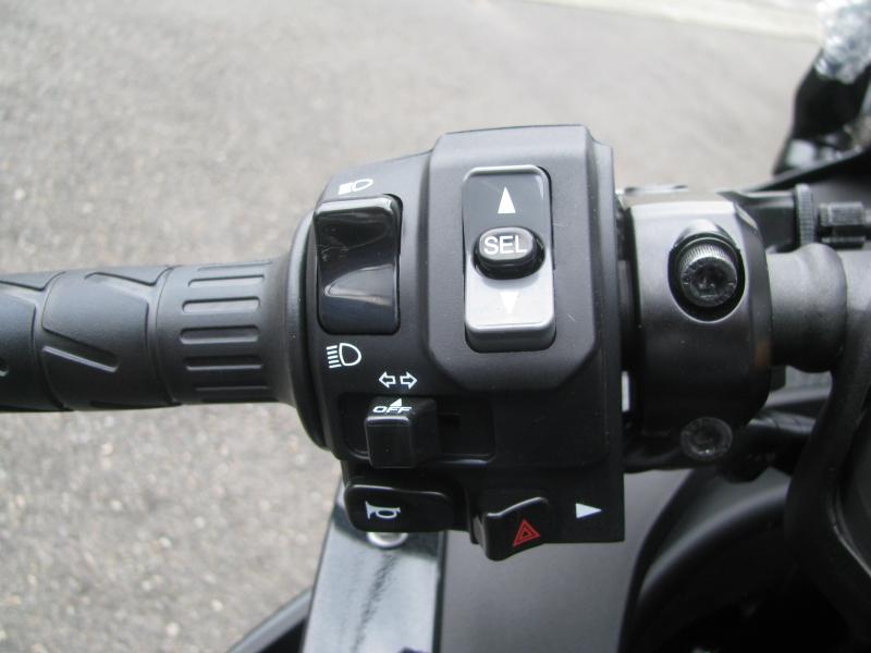 新車バイク カワサキ Ninja ZX-25R ブラック 左ハンドルスイッチ