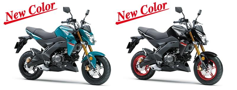 新商品情報 カワサキ Z125PRO 2021年モデルが発表されました。