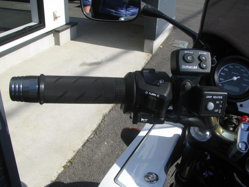 中古車バイク ホンダ CB400SB(スーパーボルドール) ブルー/ホワイト グリップヒーター