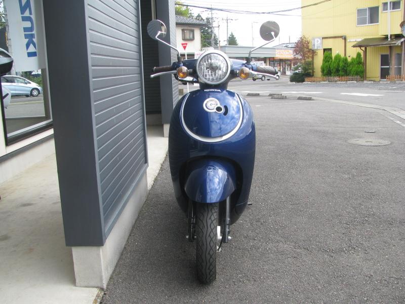 中古車バイク ホンダ ジョルノ(GIORNO) ブルー 正面