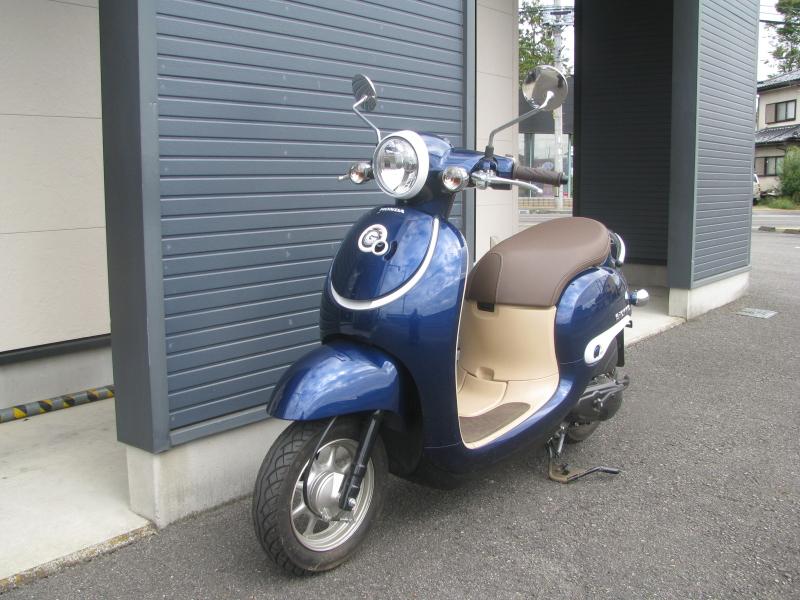 中古車バイク ホンダ ジョルノ(GIORNO) ブルー 左まえ側
