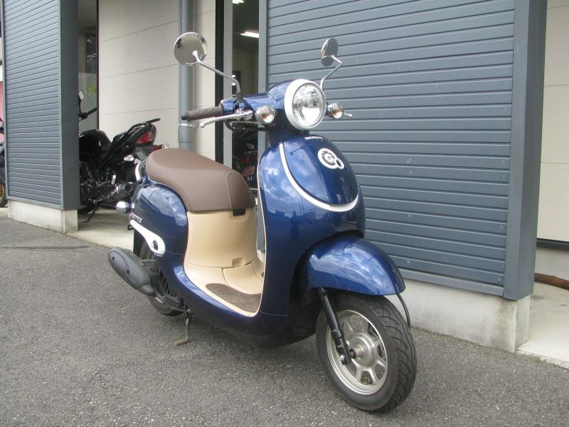 中古車バイク ホンダ ジョルノ(GIORNO) ブルー 右まえ側