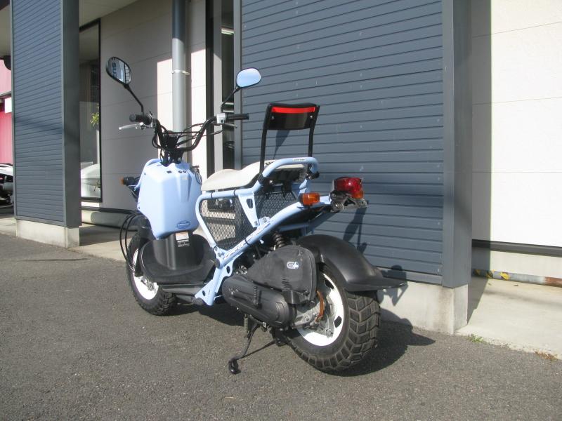 中古車バイク ホンダ ZOOMER(ズーマー) スペシャルエディション ブルー 左後ろ側