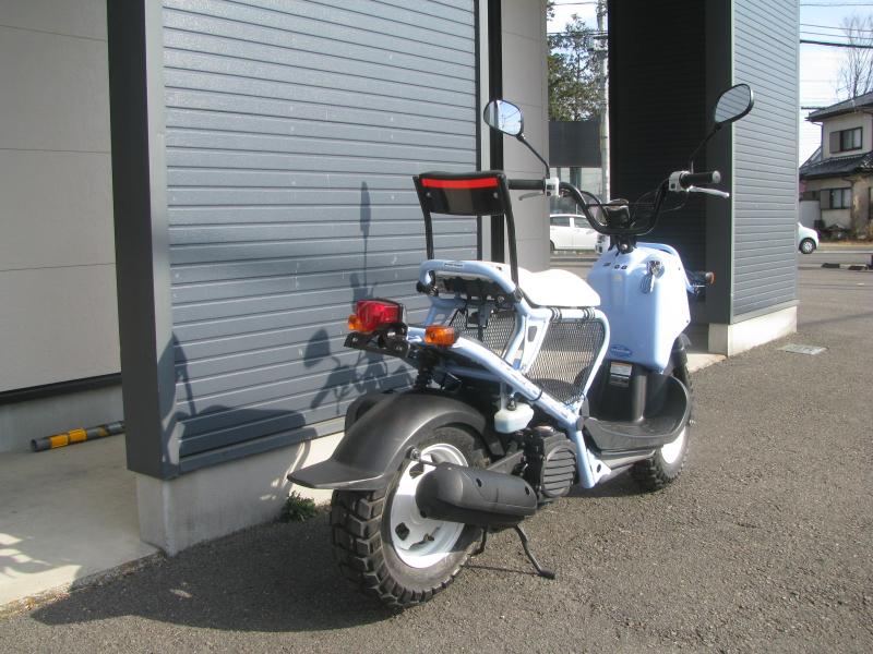 中古車バイク ホンダ ZOOMER(ズーマー) スペシャルエディション ブルー 右後ろ側