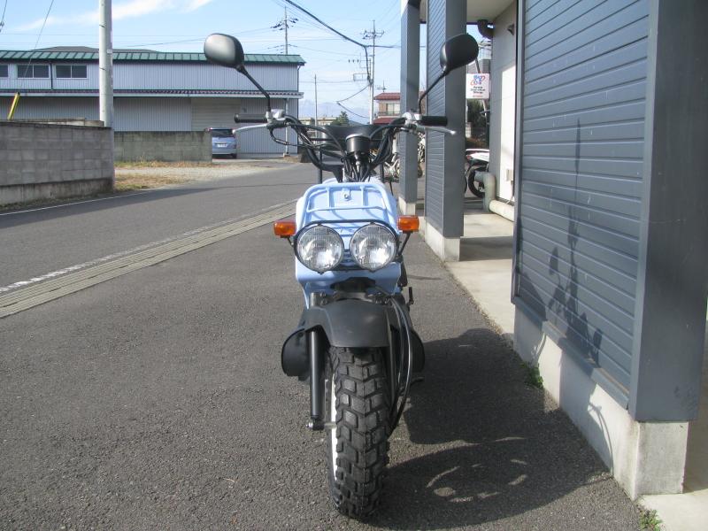 中古車バイク ホンダ ZOOMER(ズーマー) スペシャルエディション ブルー まえ側