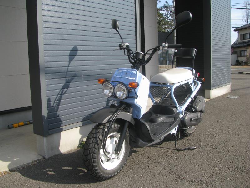 中古車バイク ホンダ ZOOMER(ズーマー) スペシャルエディション ブルー 左まえ側
