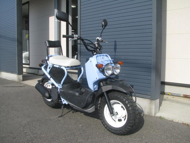 中古車バイク ホンダ ZOOMER(ズーマー) スペシャルエディション ブルー 右まえ側
