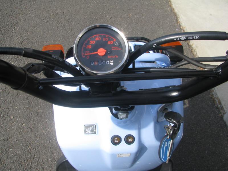 中古車バイク ホンダ ZOOMER(ズーマー) スペシャルエディション ブルー スピードメーター