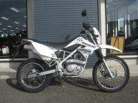 中古車バイク カワサキ KLX125 ホワイト