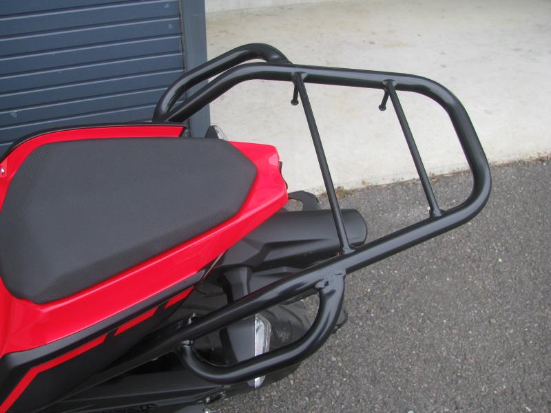 中古車バイク カワサキ Ninja250 レッド/ブラック リアキャリア
