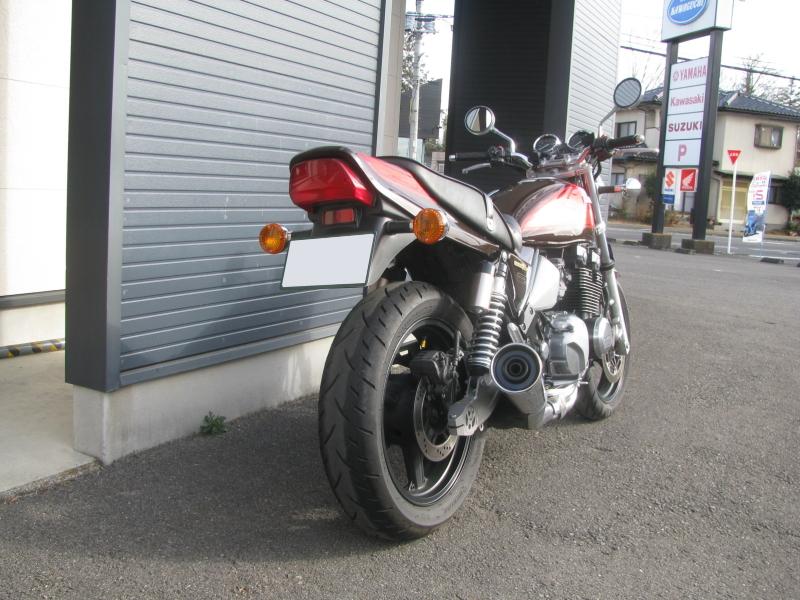 中古車バイク カワサキ ゼファーΧ(ゼファーカイ) ブラウン/オレンジ 右後ろ側