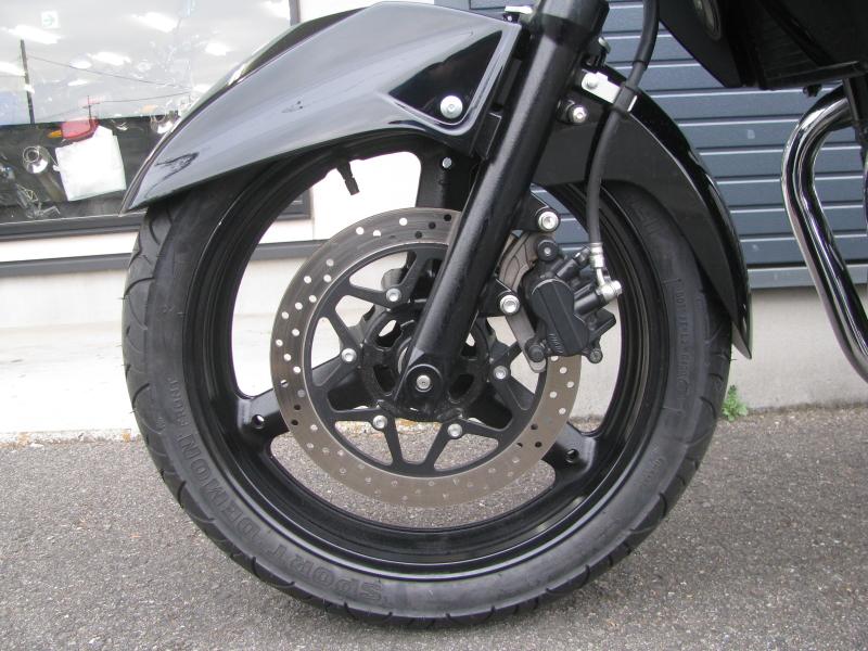 中古車バイク スズキ GSR250 ブラック フロントホイール