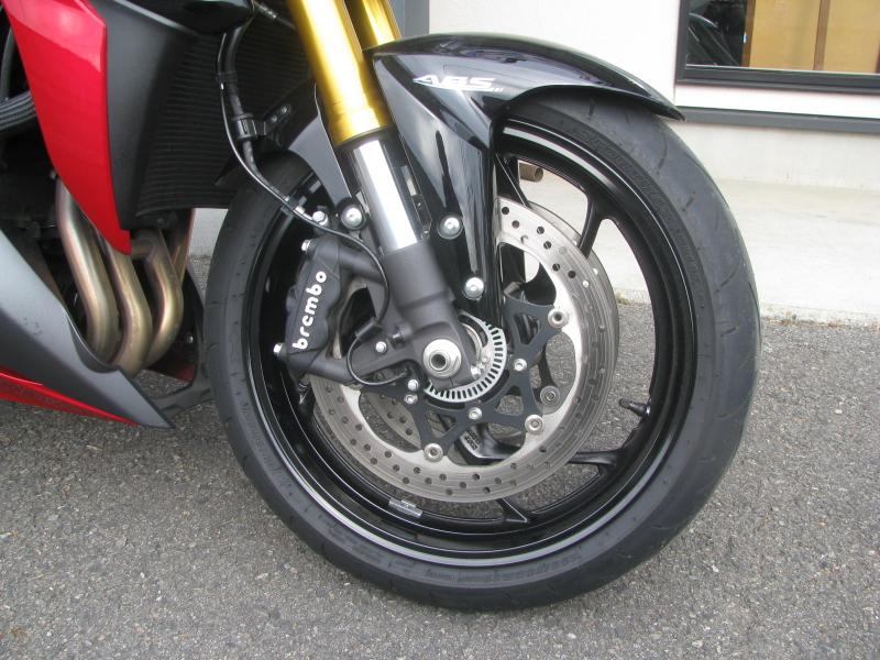 中古車バイク スズキ GSX-S1000 ABS レッド/ブラック フロントホイール