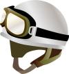 バイク用ヘルメット サンプルイラスト