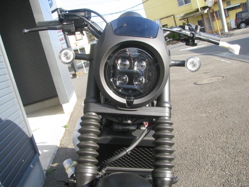 新車 ホンダ レブル250 タイプS マットグレイ LEDヘッドライト