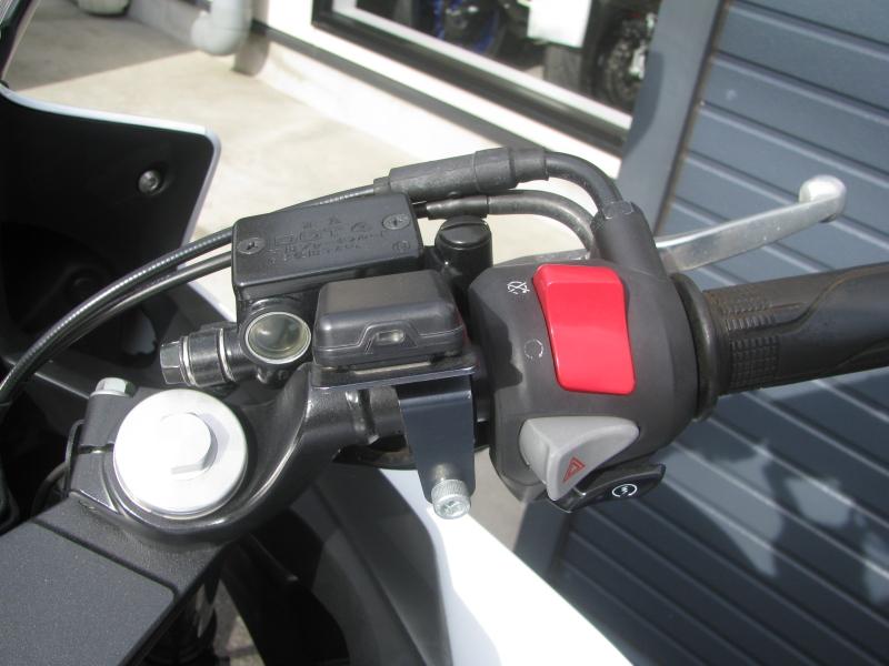 中古車バイク ホンダ CBR400R ABS トリコロールカラー ETCのアンテナ