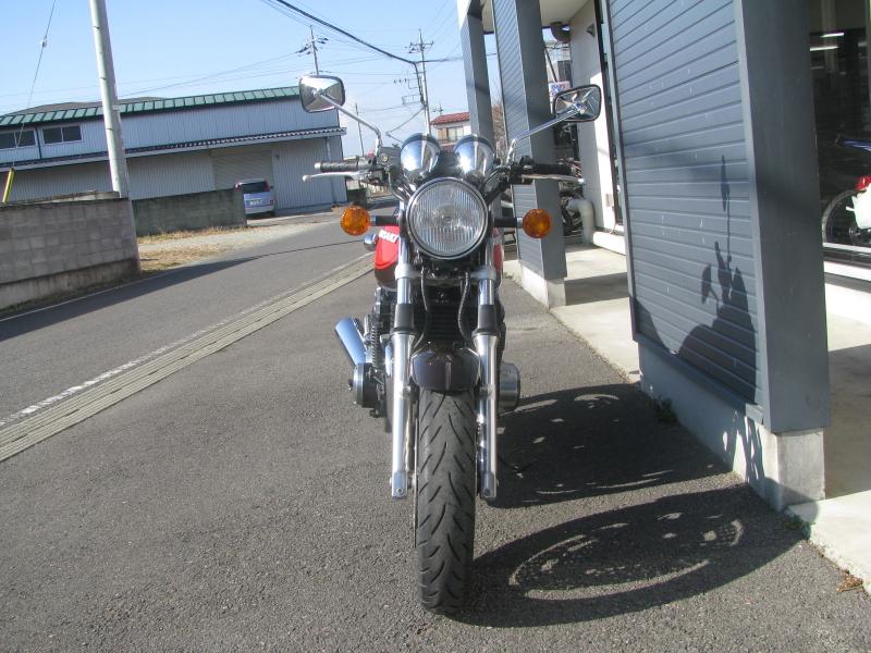 中古車バイク カワサキ ゼファーΧ(ゼファーカイ) ファイナルエディション ブラウン/オレンジ 火の玉カラー まえ側