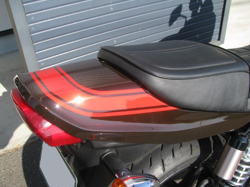 中古車バイク カワサキ ゼファーΧ(ゼファーカイ) ファイナルエディション ブラウン/オレンジ 火の玉カラー テールカウル