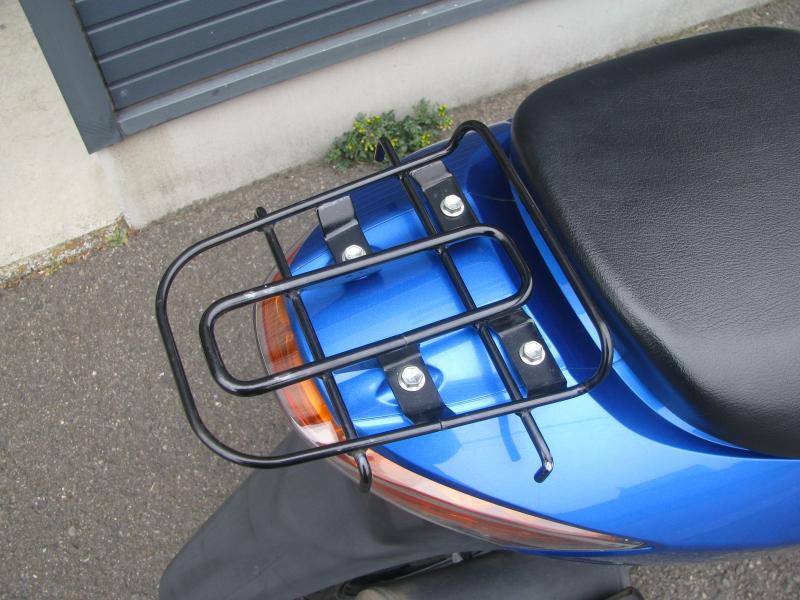 中古車バイク スズキ アドレスV50 ブルー リアキャリア