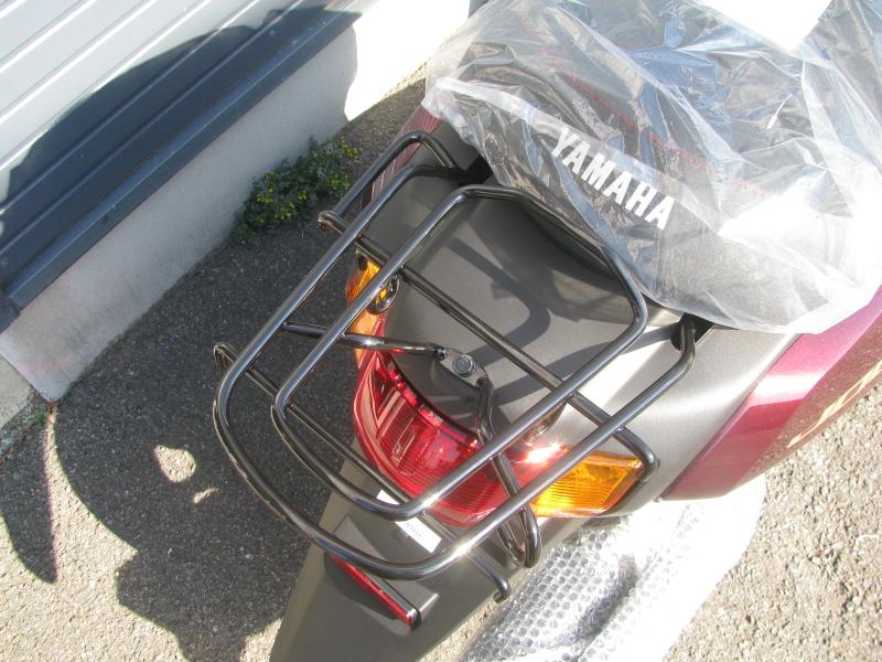 新車バイク ヤマハ JOG(ジョグ) レッド リアキャリア
