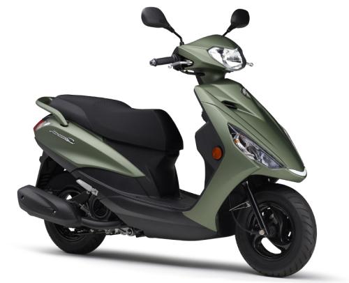新商品情報 ヤマハ アクシスZ(AXIS Z) 2021年モデル グリーン発表
