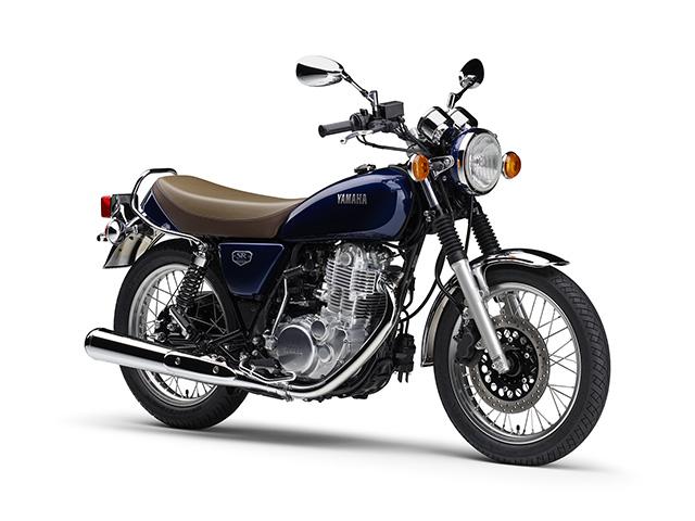 新商品情報 ヤマハ SR400 ファイナルエディション ブルー 発表