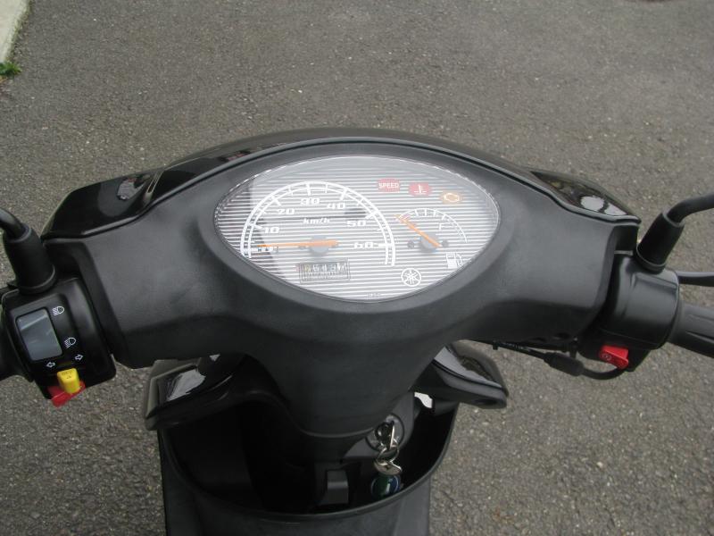 中古車バイク ヤマハ JOG ブラック メーターパネル