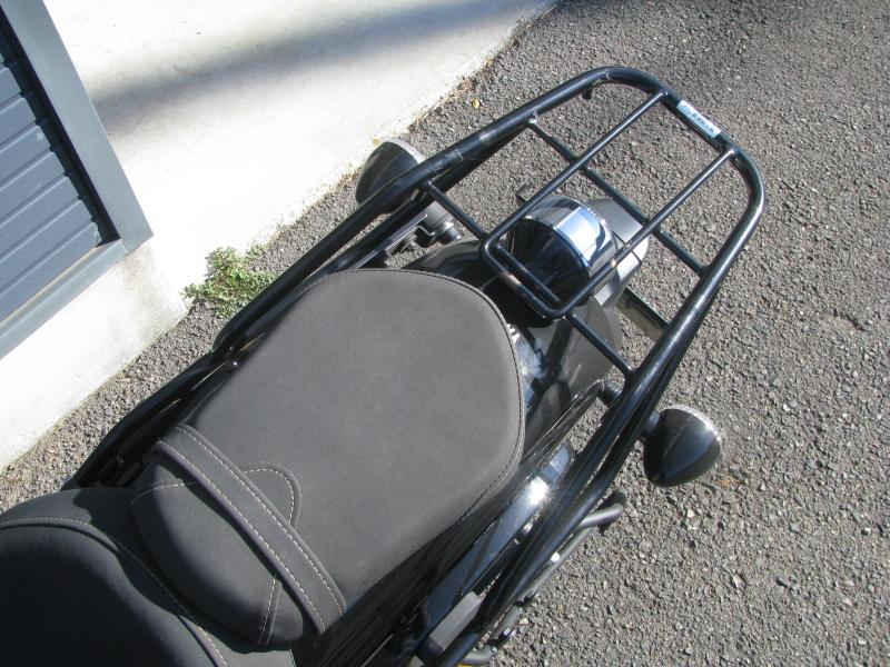 中古車 ヤマハ BOLT-R ブラック リアキャリア