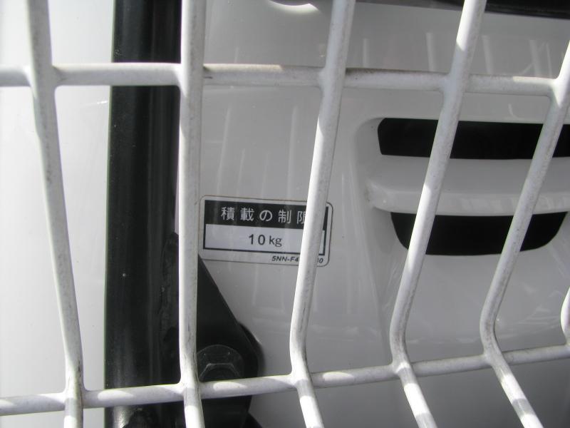 中古車 ヤマハ ギア(GEAR) ホワイト フロントキャリア 最大積載量10kg