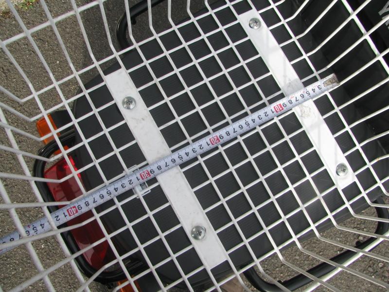 中古車 ヤマハ ギア(GEAR) ホワイト リアバスケット 底面縦の長さ 約40cm