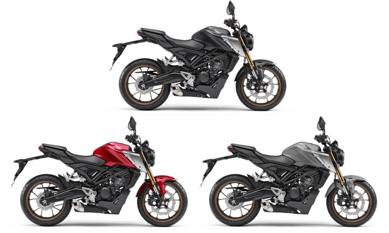 新商品 ホンダ CB125R ABS 2021年モデル