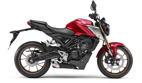 新商品 ホンダ CB125R ABS レッド(赤) 2021年モデル