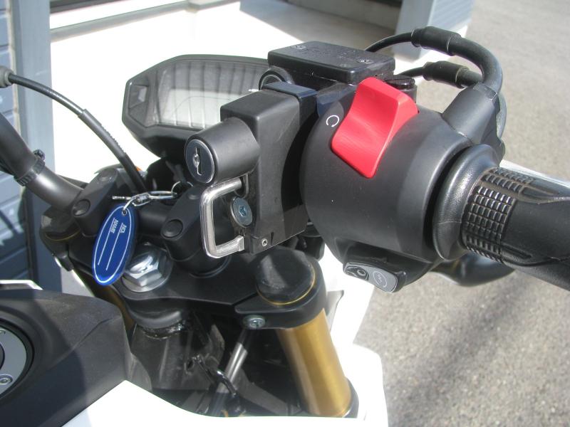 中古車 ホンダ グロム(GROM) ホワイト ハンドル右側 ヘルメットホルダー