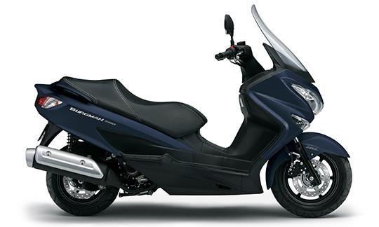 新商品 スズキ バーグマン200 ABS(ブルー) 2021年モデル発表