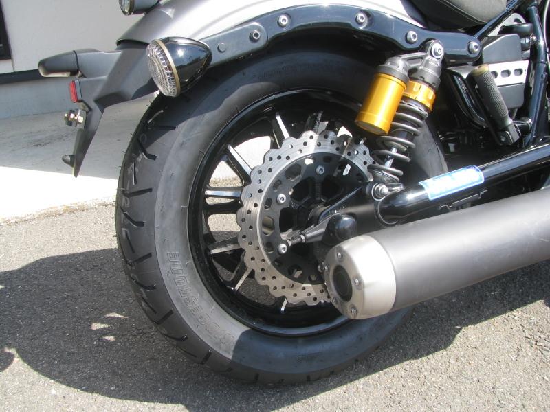 中古バイク ヤマハ BOLT-R(ボルト Rスペック)マットグレイ リアホイール
