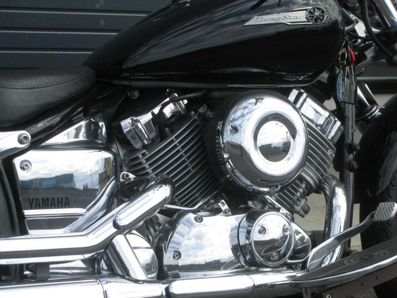中古車バイク ヤマハ ドラッグスター400 (DS4) ブラック エンジン