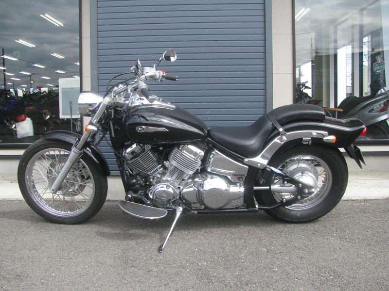 中古車バイク ヤマハ ドラッグスター400 (DS4) ブラック ひだり側