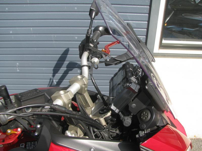中古車 ヤマハ MT-09 TRACER ABS(トレーサーABS) レッド フロント周り右側