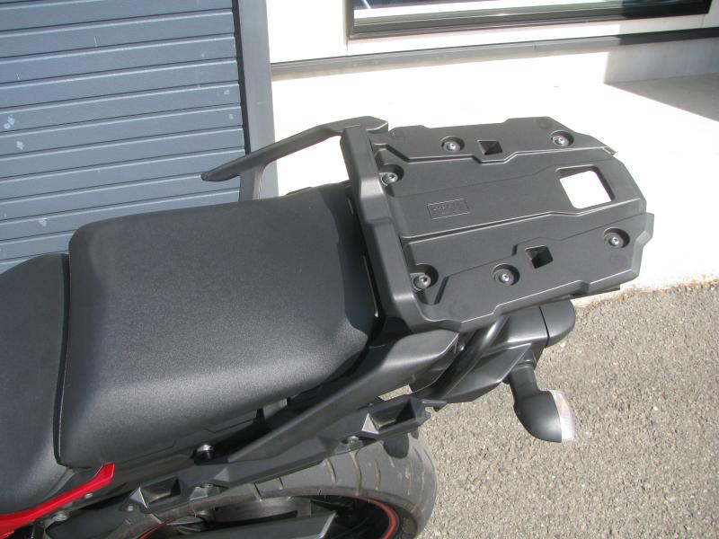 中古車 ヤマハ MT-09 TRACER ABS(トレーサーABS) レッド リアキャリア