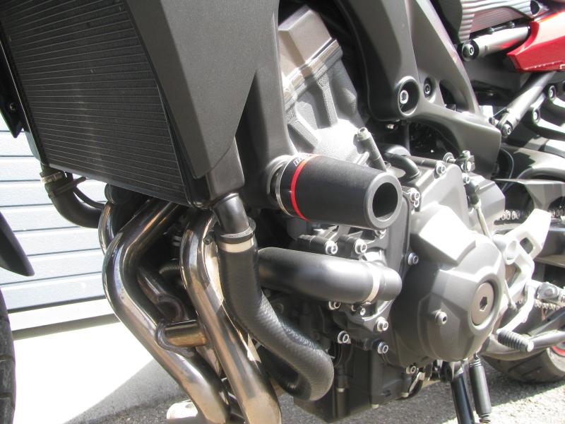 中古車 ヤマハ MT-09 TRACER ABS(トレーサーABS) レッド エンジンスライダー